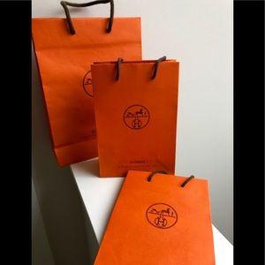 Genuine Hermès Empty Bags & Hermès Book & Carnet